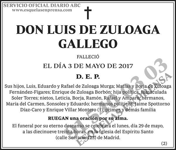 Luis de Zuloaga